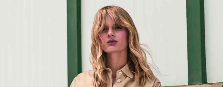 Haarfarbe Vintage #TitaniumRose - Hair Trends 2019