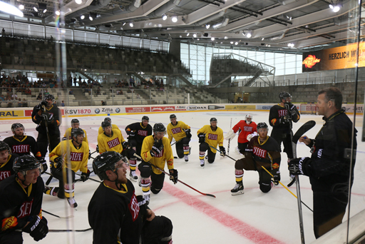 Vienna Capitals - 1st official training 1.8.2016 - Season 2016/17